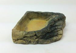 Terrarium Corner Bowl Stone with steps - medium size