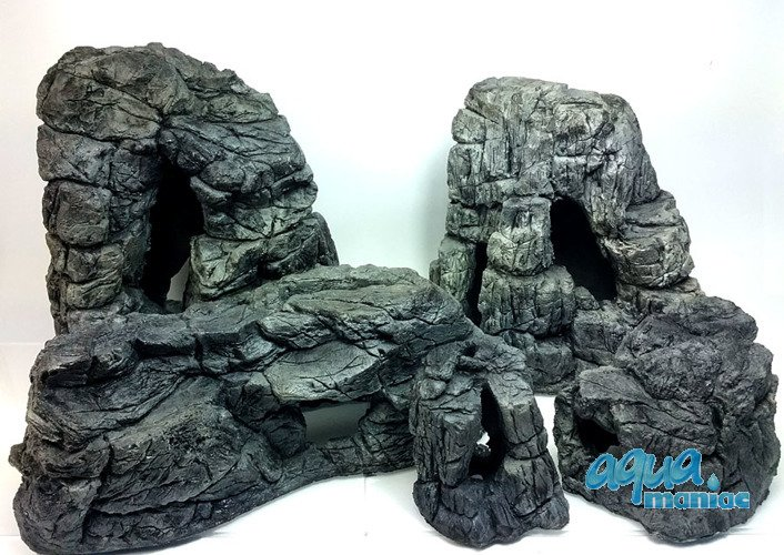 Aquarium rocks bundle for tropical fish tanks for aquarium for Aquarium decoration rocks