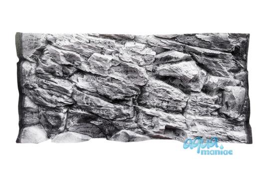 3D grey rock background 117x45cm