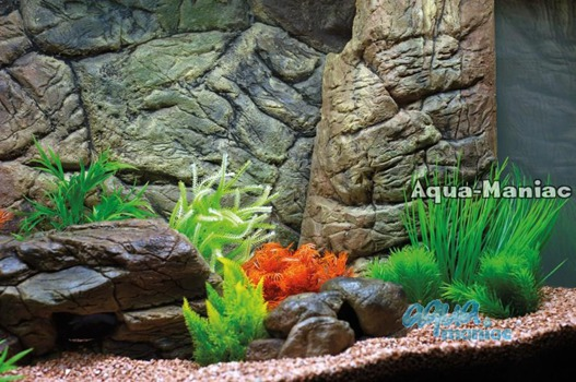 Aquarium Filter cover beige 48cm height
