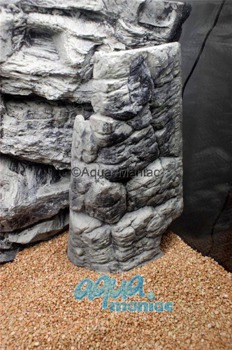 Aquarium Filter cover grey 28cm height