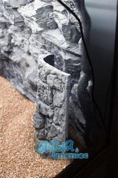 Aquarium Filter cover grey 48cm height