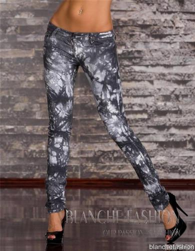 Sexy Skinny Jeans Acid Grey