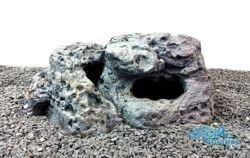 Limestone rock hide for fish - Medium Size