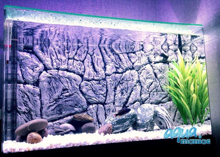 Top Aquarium Background for Juwel Rio 240 Aquarium - 3d thin rock PG23