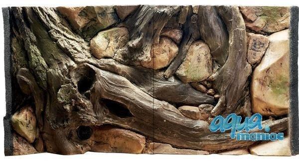 3D Background Amazon 97x45cm to fit Aqua Oak 110 Aquarium