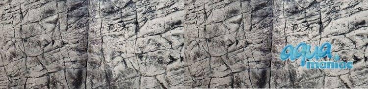 3D Foam Rock Grey Background Modules size 200x55cm