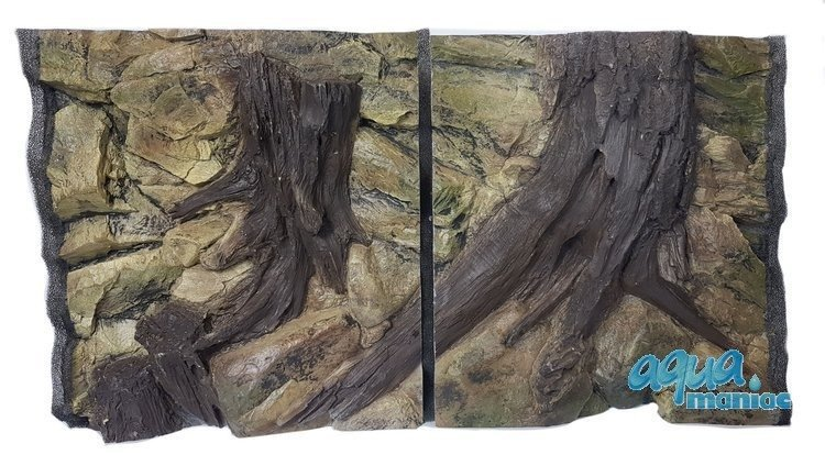 3D Root Background 88x56cm in 2 section to fit 3 foot by 2 foot tanks