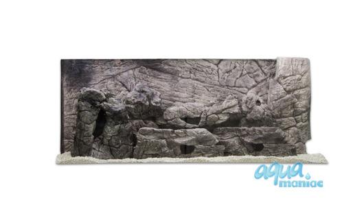 3D grey thin background 117x54cm