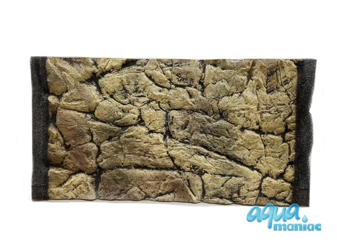 3D thin rock background 57x27cm