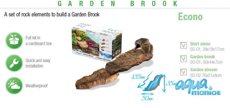 Garden brook - 3 elements