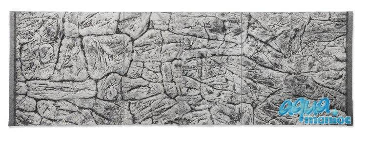 JUWEL RIO 300 3D thin grey rock background 116x57cm in 3 sections