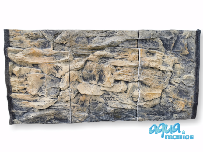 JUWEL RIO 350 3D rock background 116x57cm in 3 sections