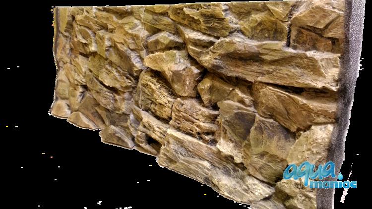 JUWEL Vision 180 3D rock background 90x45cm 2 sections