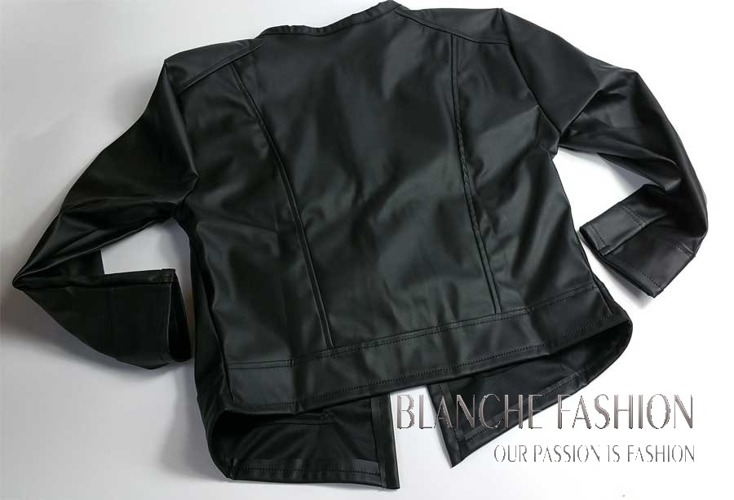 Ladies elegant sexy jacket Eco Leather size 12