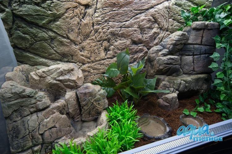 Mini Terrarium Waterfall 01M  - 21cm high