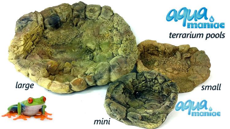 Terrarium Pool for reptiles - small