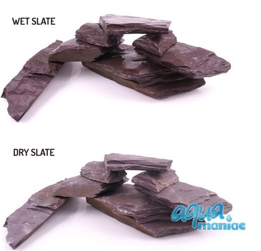 Violet Slate for Aqua Scaping