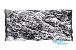 3D grey rock background 117x54cm